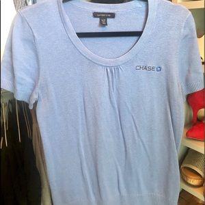 Chase short sleeve sweater shirt